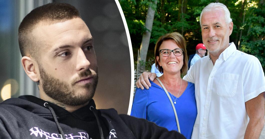 Annie och Anton Hysén bojkottar sin pappa Glenn Hyséns bröllop