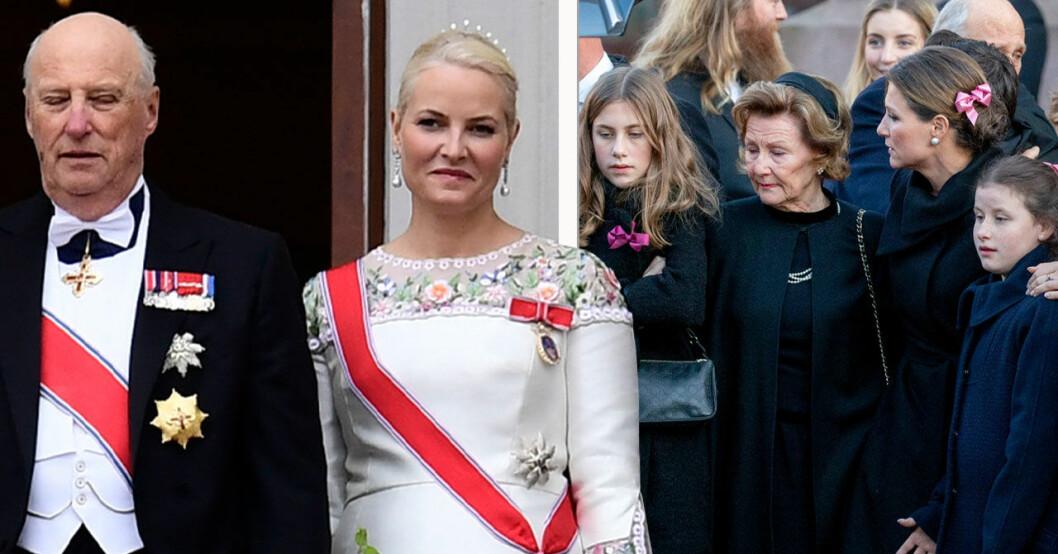 Ari Behn barn och kung Harald