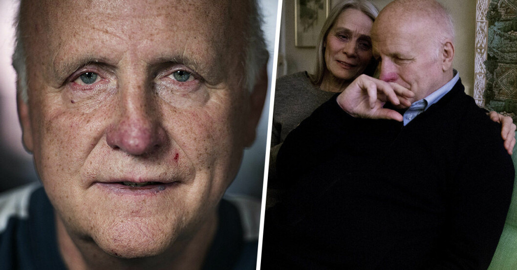 Arne Hegerfors och frun Kerstin.