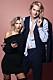 Arvid Stenbäcken och Gabriella Bella Andersson på pressträff för Paradise hotel – Efter festen