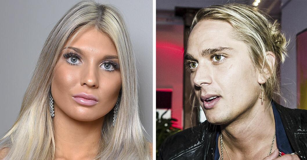 Bella Andersson och Arvid Stenbäcken blev tillsammans i Paradise Hotel 2019.