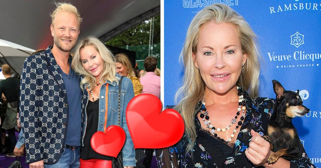 Svenska Hollywood-frun Åsa Vesterlund bekräftar: Fredrik Berne är min nya pojkvän.