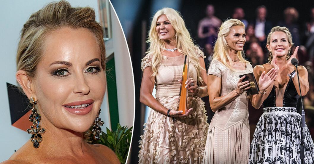Åsa Vesterlund i Svenska Hollywoodfruar på TV3