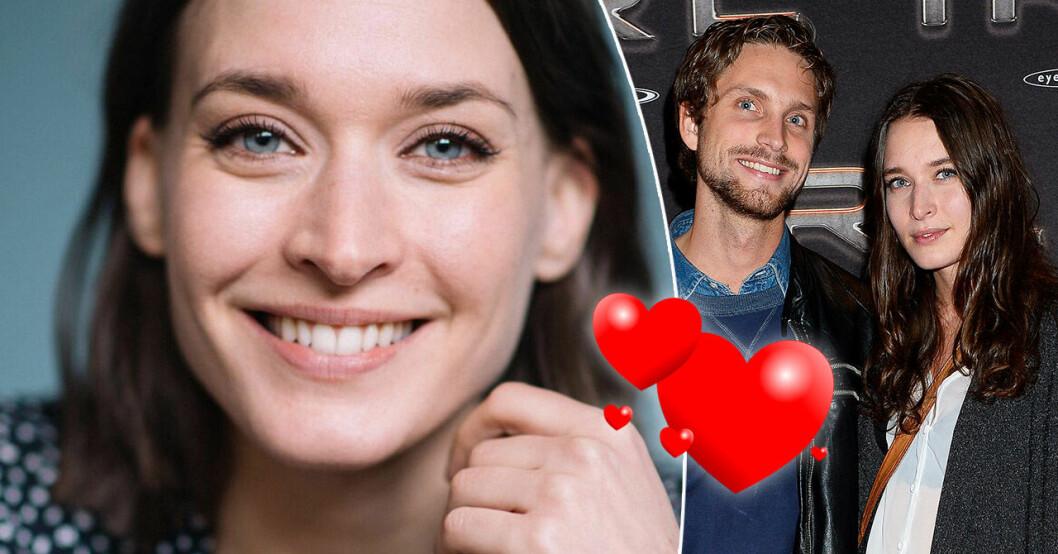 Josefin Asplund och pojkvännen Niklas Clarkson.