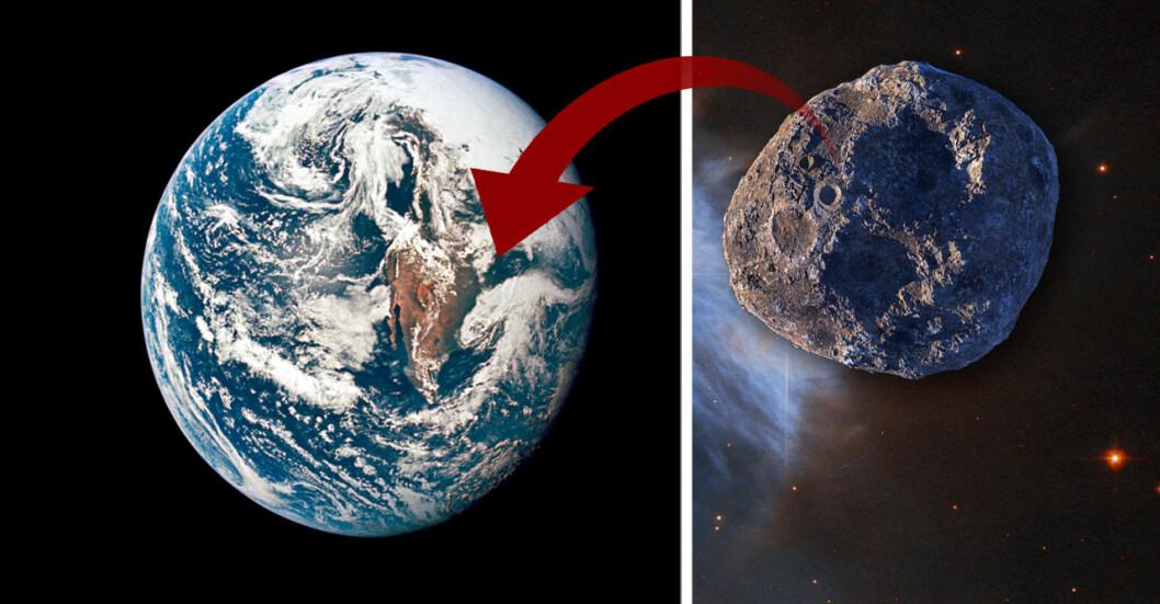 En stor asteroid väntas passera nära jorden.