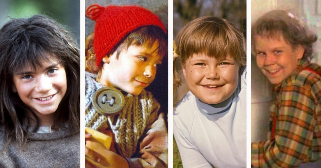 Astrid Lindgrens barnstjärnor idag