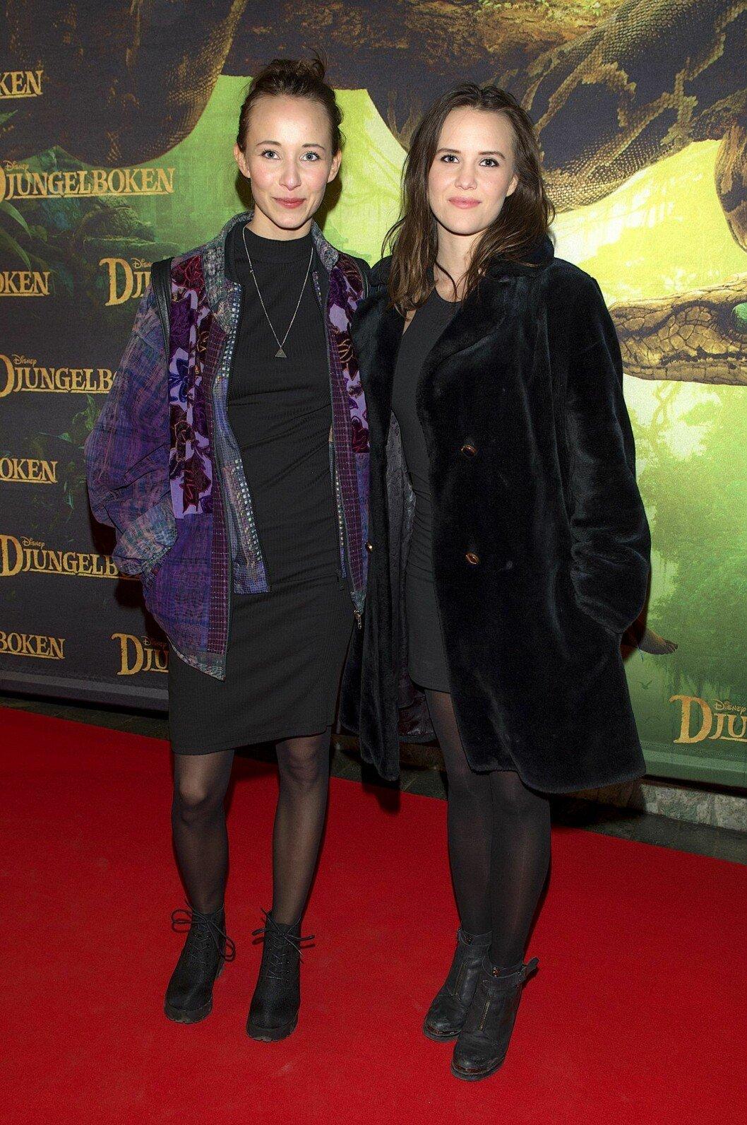 Molly Morberg och Astrid Morberg