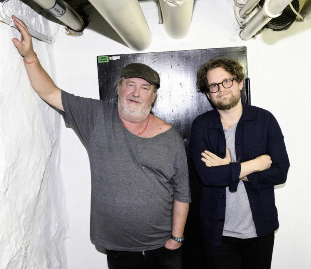 "Per ""Plura"" Jonsson med sonen Axel Jonsson-Stridbeck"