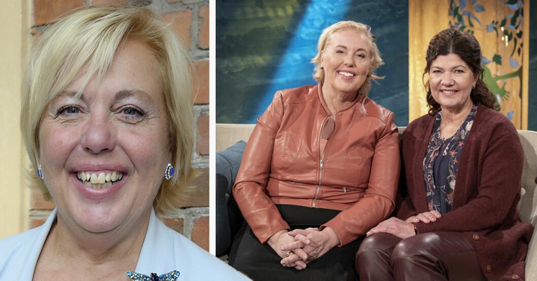 Suzanne Axell och Karin Granberg i SVT:s Fråga doktorn.