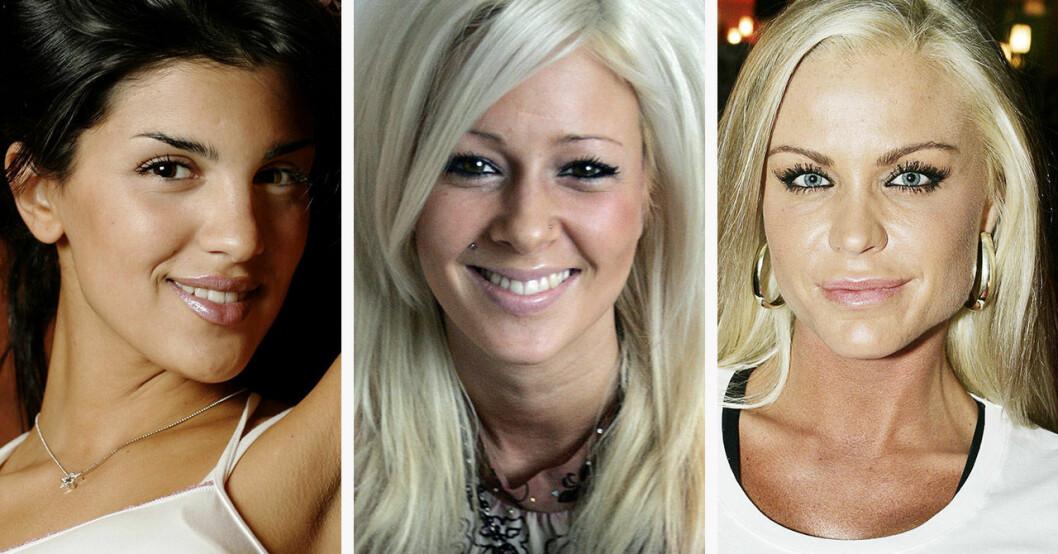 Aylar Lie, Jessica Lindgren och Linda Rosing har varit med i Big Brother.