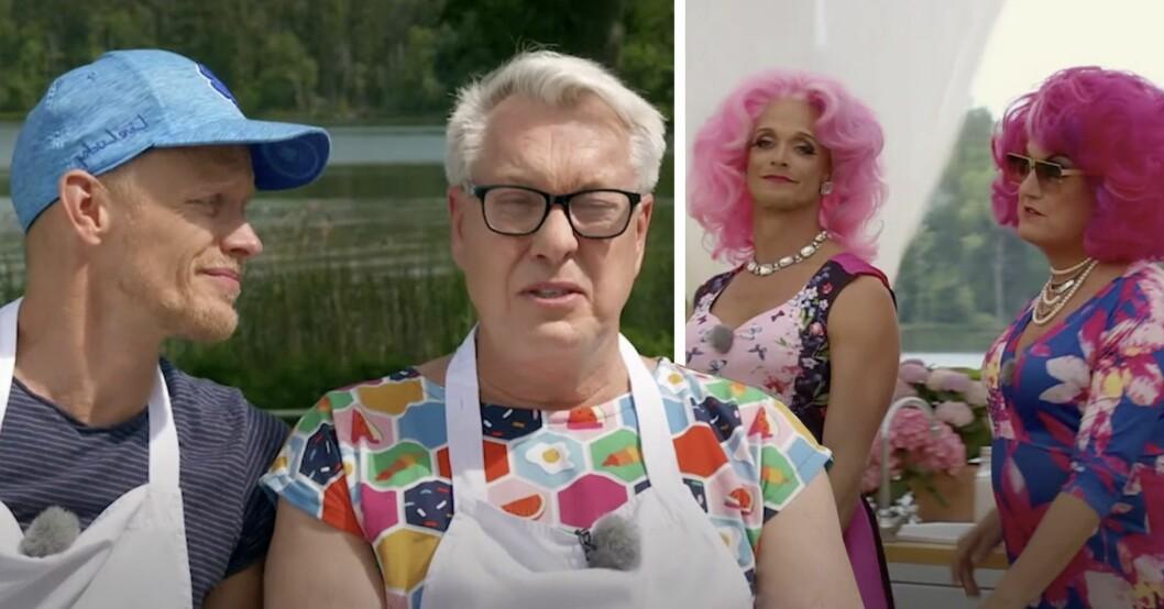 Tobias Karlsson och Babsans genidrag i Hela kändis-Sverige bakar