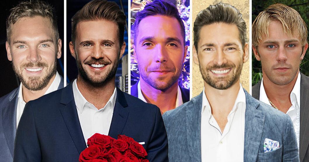 Niclas Lij, Sebastian Ljungberg, David Möller, Pär Nilsson och Andreas Lauritzen har alla varit med i Bachelor.