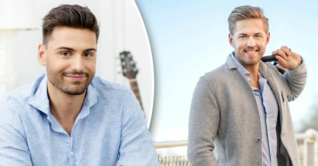 William Karlsson har hoppat av Bachelor – hur det blir för Simon Glimhed är inte klart än.
