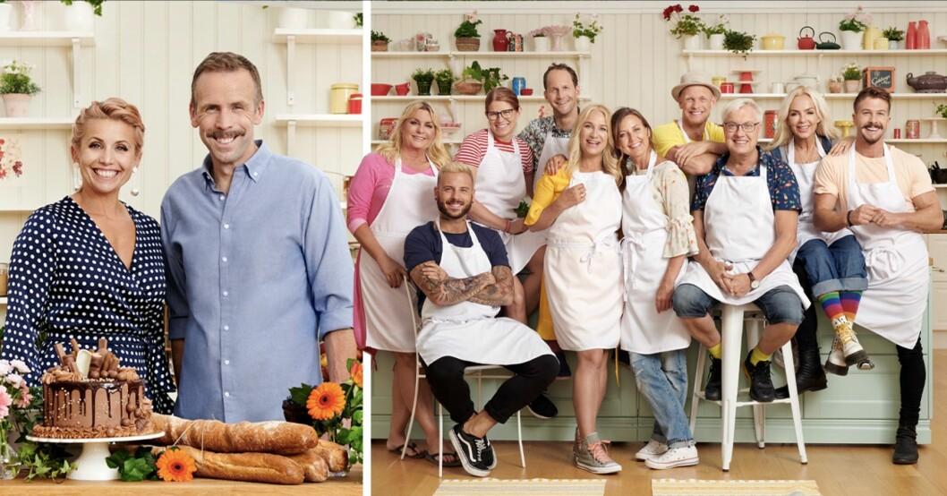 Hela kändis-Sverige bakar 2020: Här är alla deltagare