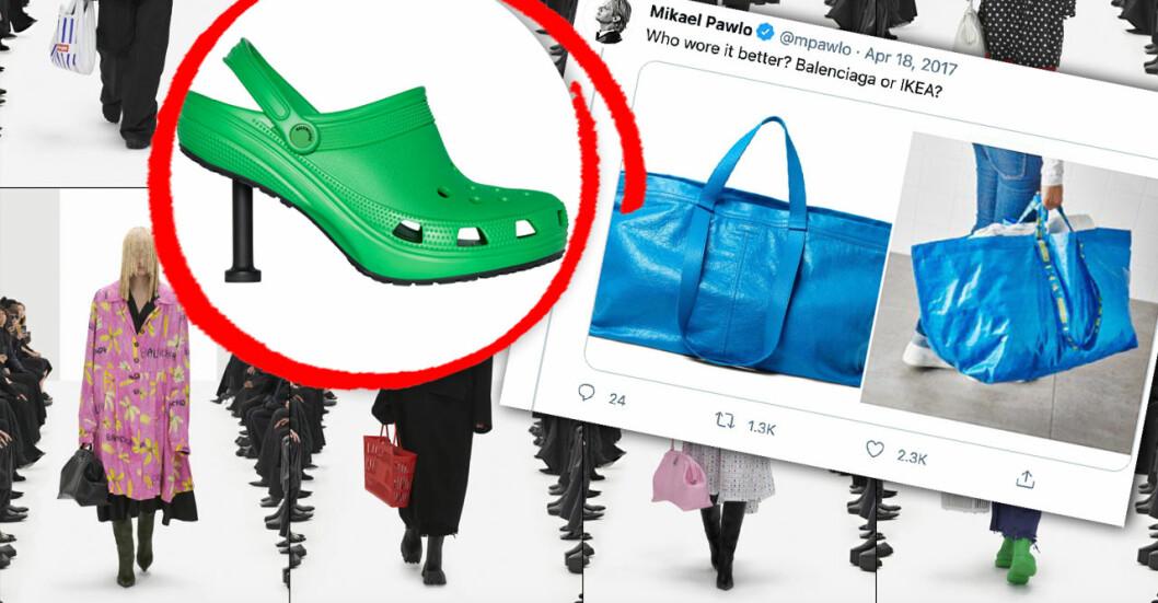 Är Balenciagas samarbete med Crocs bara ett PR-trick?