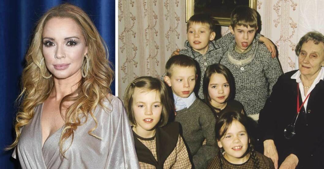 Anna Sahlin och barnen i bullerbyn