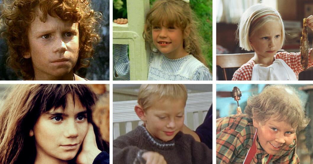 Barnen från Astrid Lindgren-filmerna