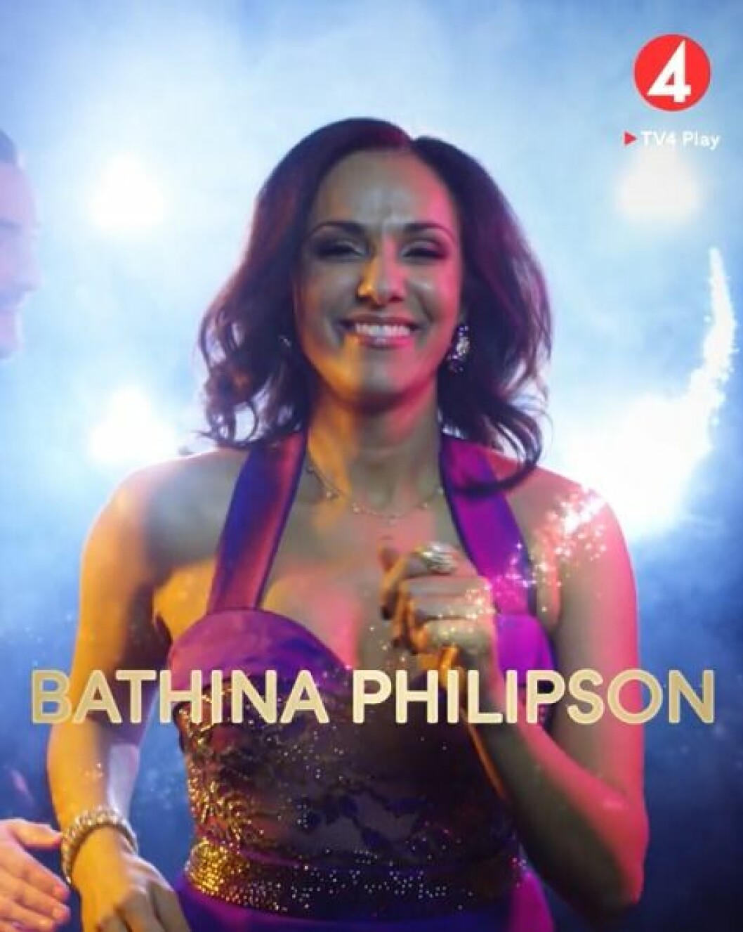 Bathina Philipson är en av deltagarna i Let's dance 2020