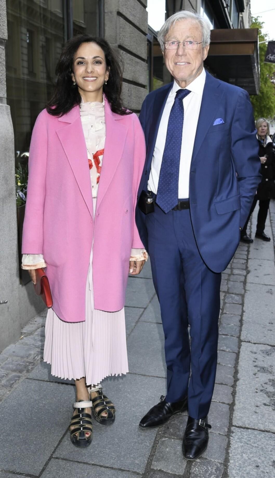 Bathina Philipson och Aje Philipson på kunglig konstauktion
