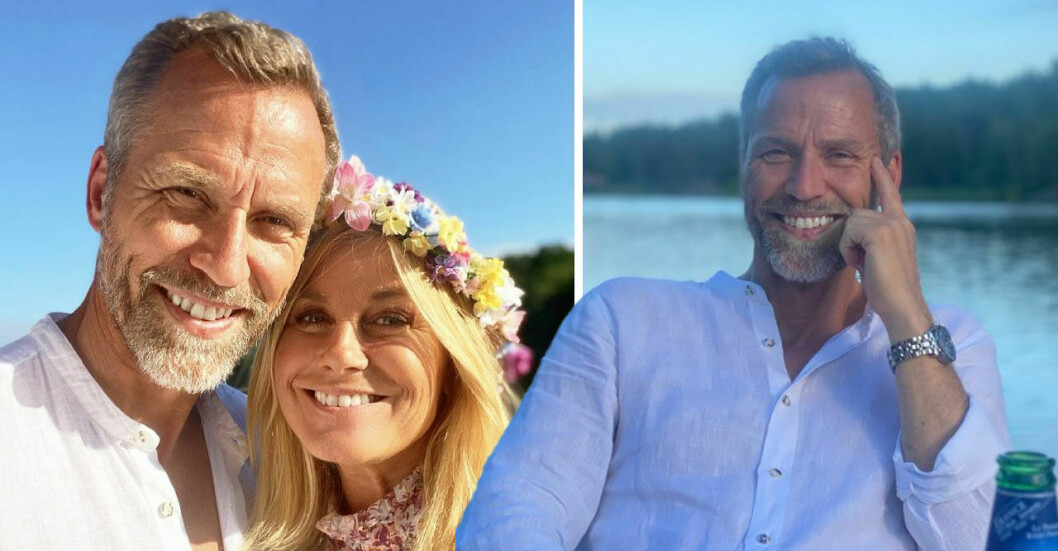 Christian Bauer och Pernilla Wahlgren.