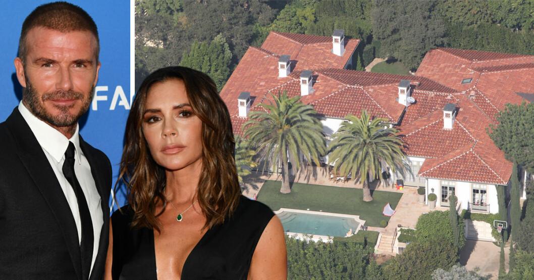 David och Victoria Beckham uppgetts ha sålt sitt hus i Beverly Hills för 300 miljoner kronor.