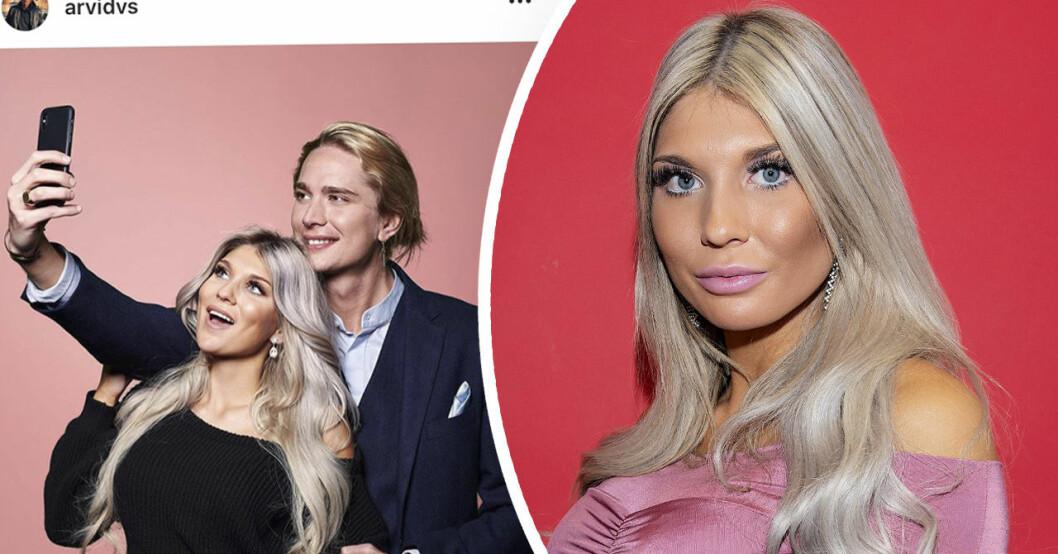 """Paradise hotel-Gabriella """"Bella"""" Andersson om relationen mellan henne och Arvid Stenbäcken efter uppbrottet."""