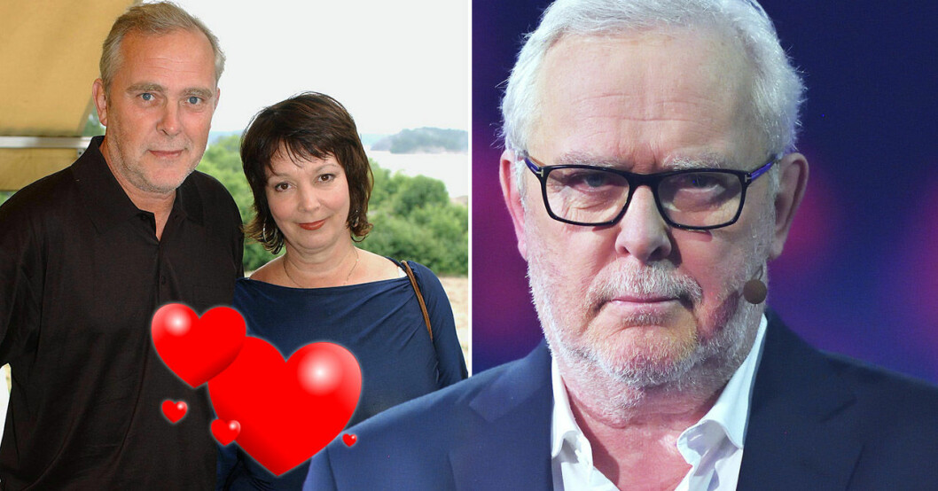 Bengt Magnusson och frun Karin.