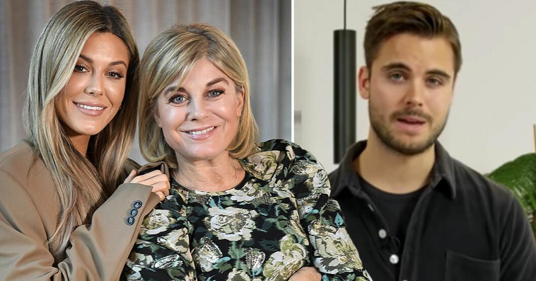 Bianca Ingrosso, Pernilla Wahlgren, Phillipe Cohen