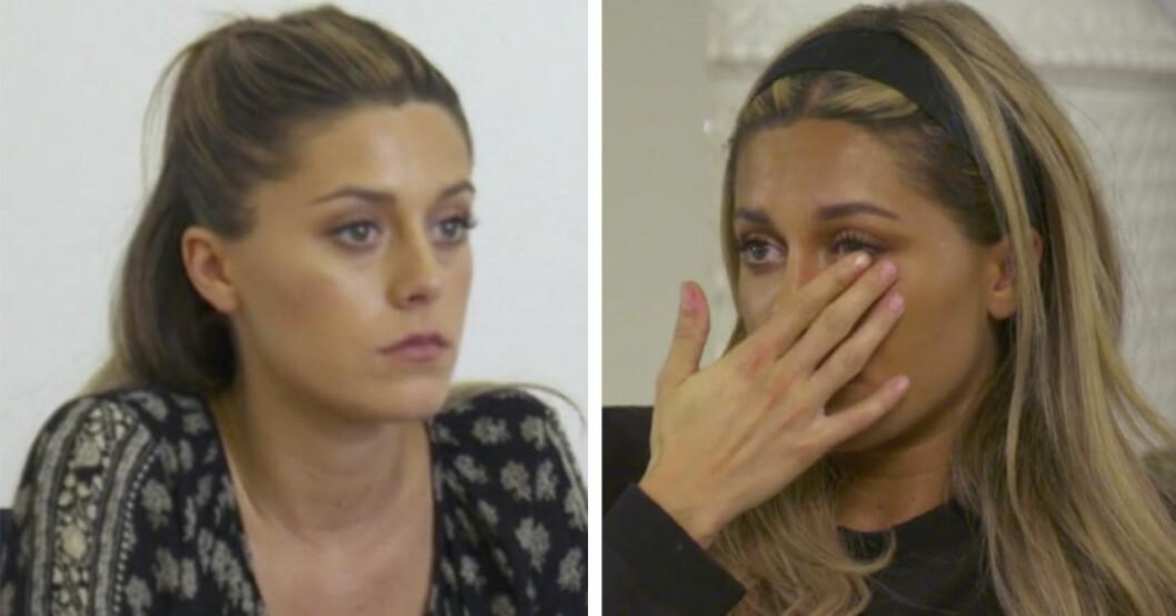 Bianca Ingrosso i tårar över känslosamma insikten.