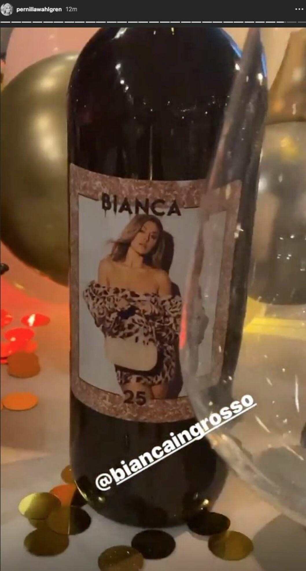 Bianca Ingrossos 25-årsfest på Fåfängan i Stockholm.
