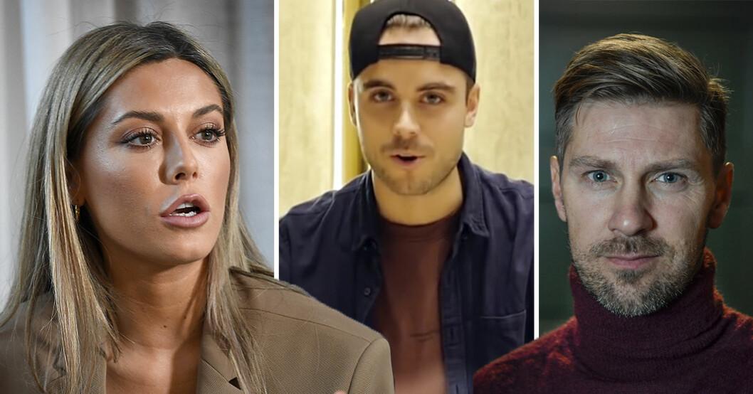 Bianca Ingrosso, Phillipe Cohen och Linus Wahlgren