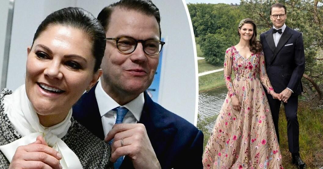 Kronprinsessan och prins Daniel firar 10 år