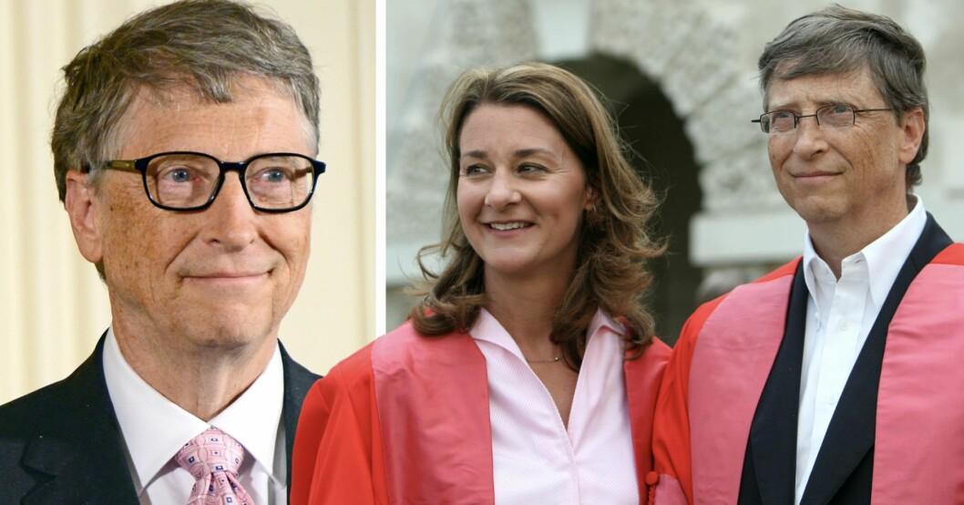 Bills Gates och hans ex-fru Melinda