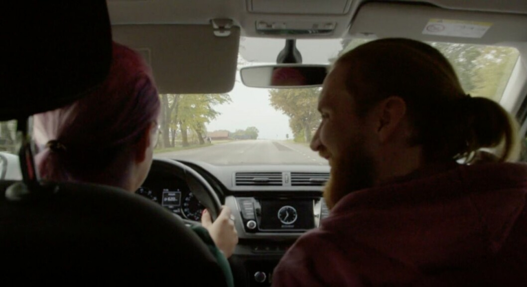 Elina och Albin i bilen, Gift vid första ögonkastet