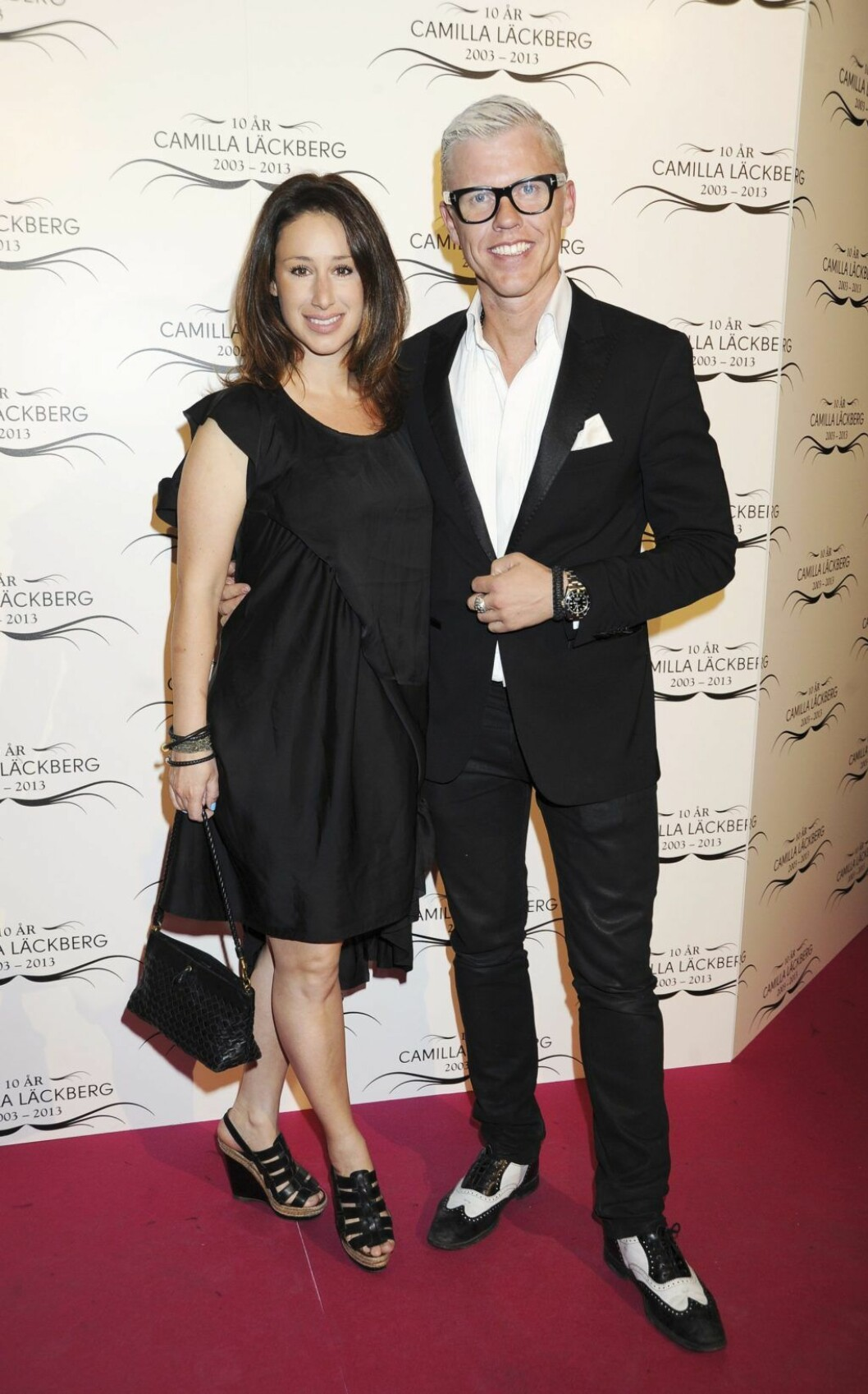 Bingo Rimér och Katrin Zytomierska är fortfarande goda vänner sedan separationen 2015