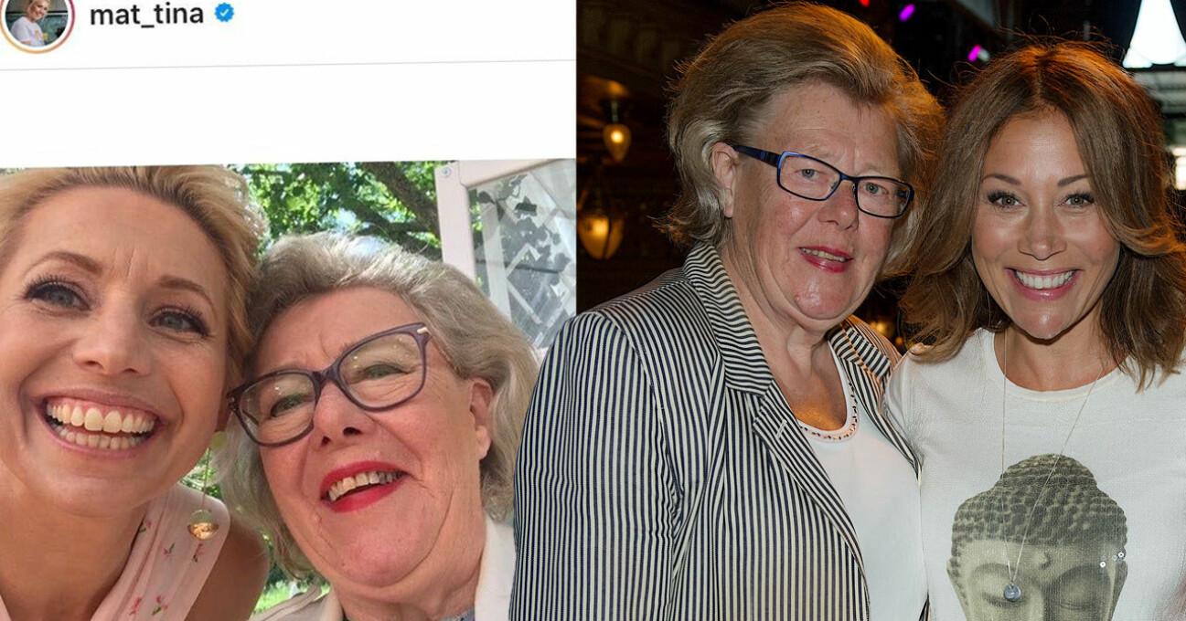 Birgitta hyllas på sociala medier