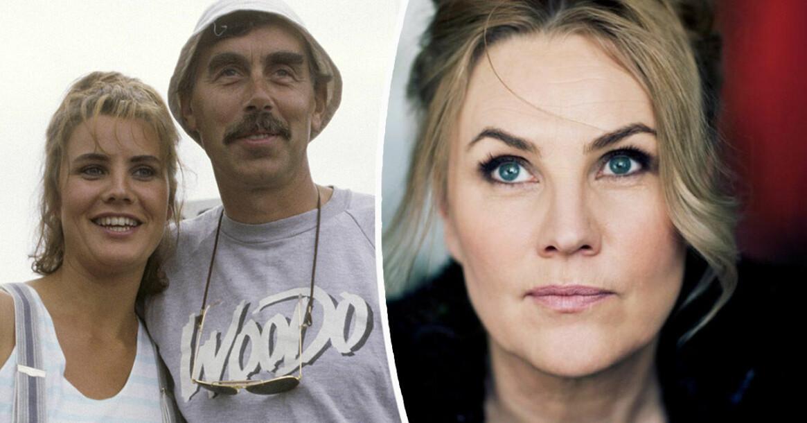 Birgitte Söndergaard och Lasse Åberg.