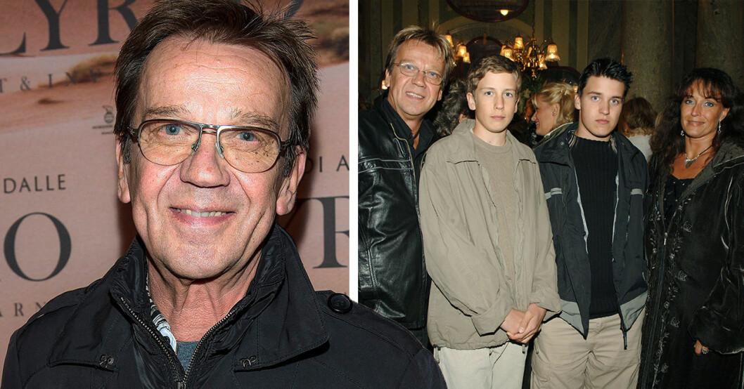Så ser Björn Skifs söner Oliver och Jonathan ut idag