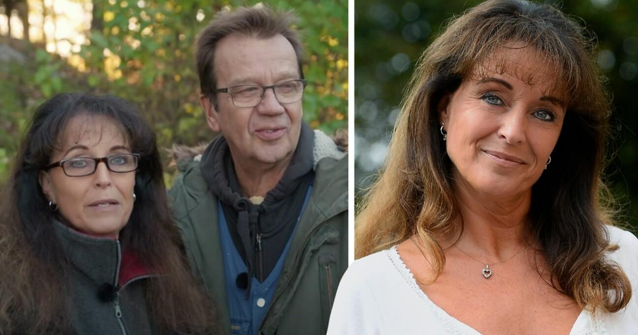 Björn Skifs och frun Pernilla Skifs
