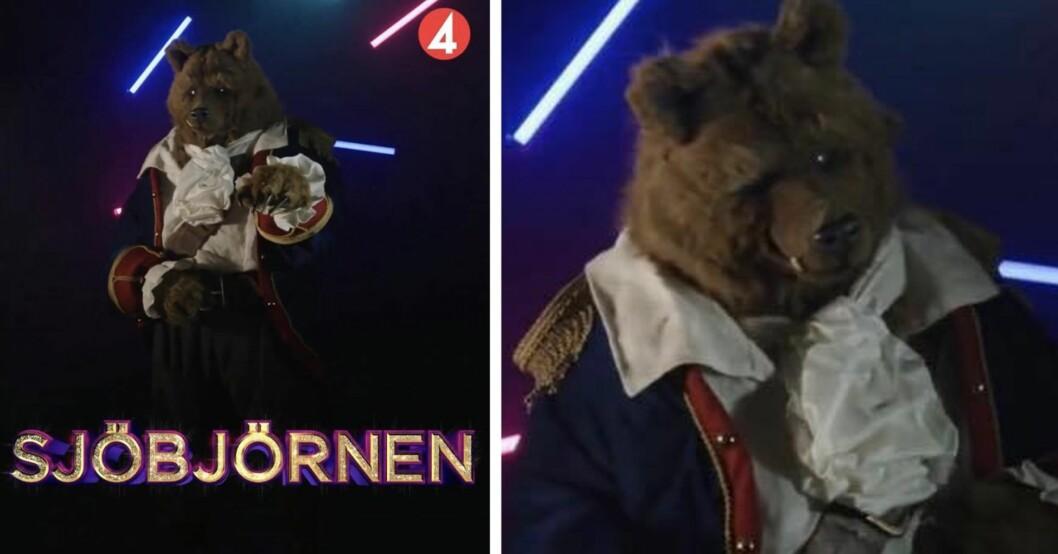 Vem döljer sig under Sjöbjörnen i Masked singer