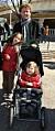 Bo Sundström med döttrarna Nim och Nona