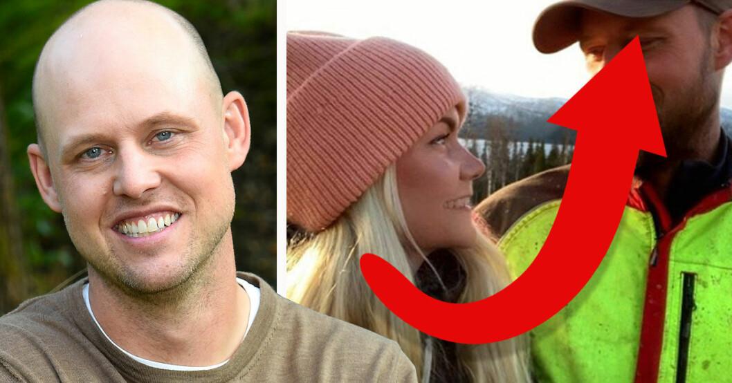Jimmy Olofssons nya utseende efter Bonde söker fru 2019
