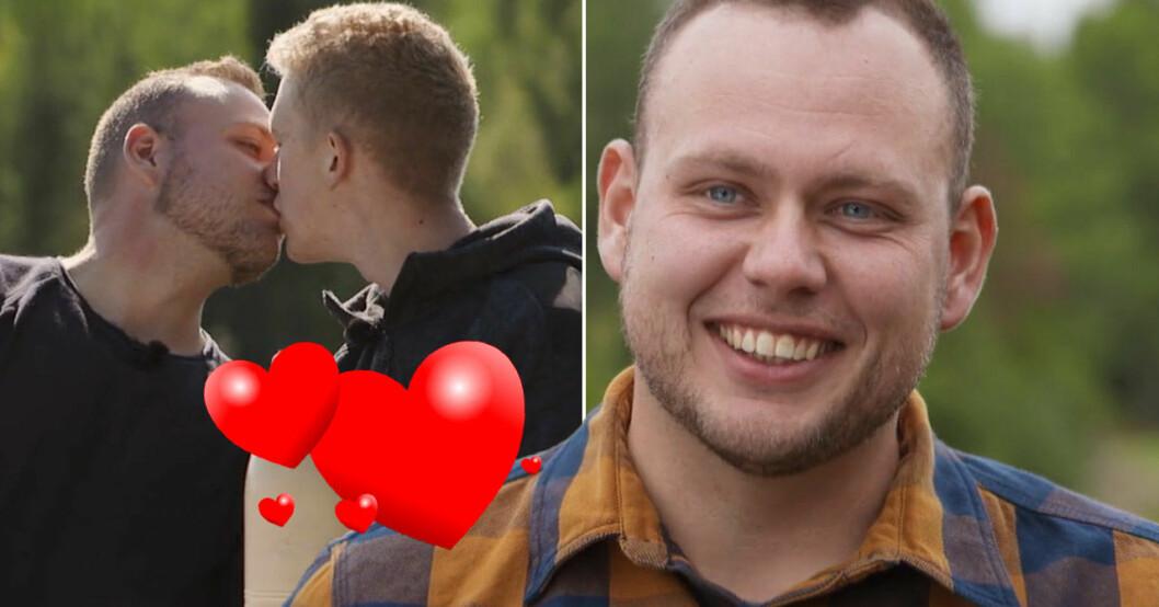 Bonde söker fru-Patrik och pojkvännen Gustav.