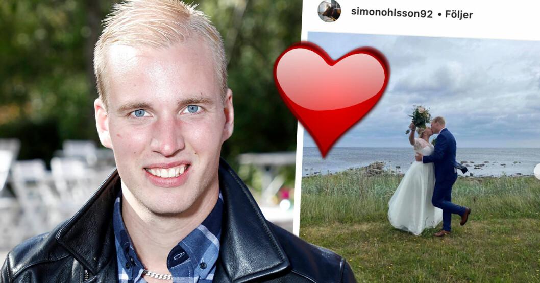 Bonde-Simons barnbesked – första orden efter stora bröllopslyckan med Amanda