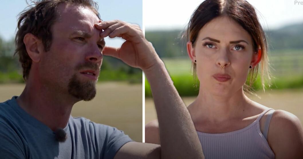 Bonde söker fru 2020: Emmy avslöjar Pontus meddelanden till Lisa