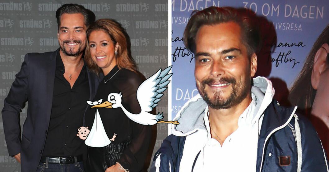 """Staffan """"Bosson"""" Olsson och Nadia Dagelin ska bli föräldrar"""