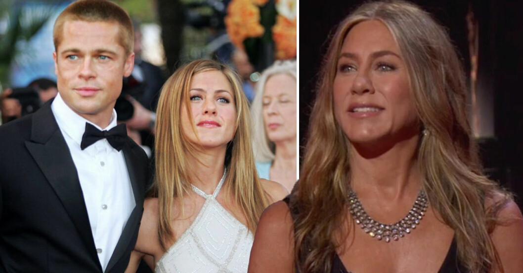 Brad Pitt och Jennifer Aniston