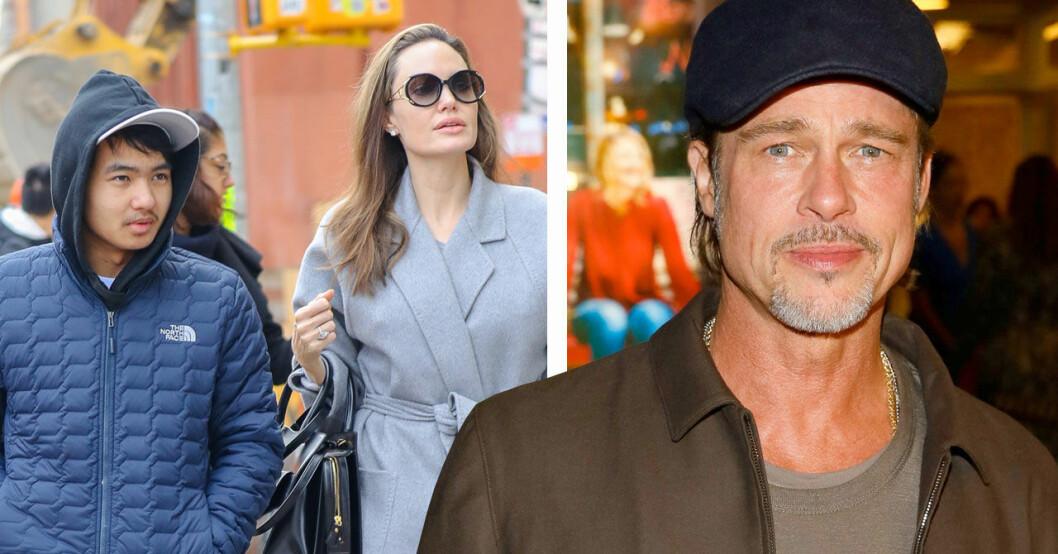 Brad Pitts relation med sonen Maddox