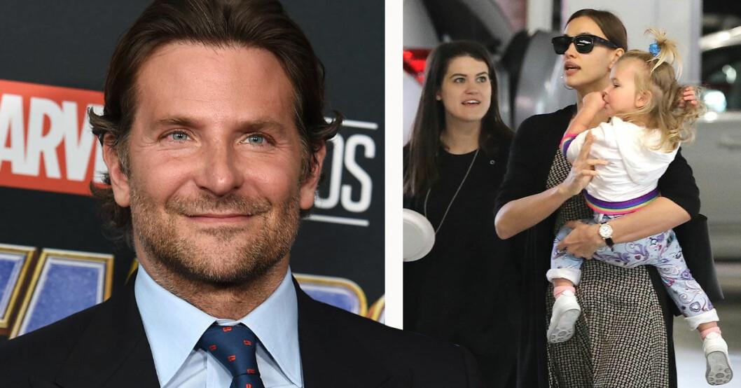 Bradley Cooper Irina Shayk dottern Lea