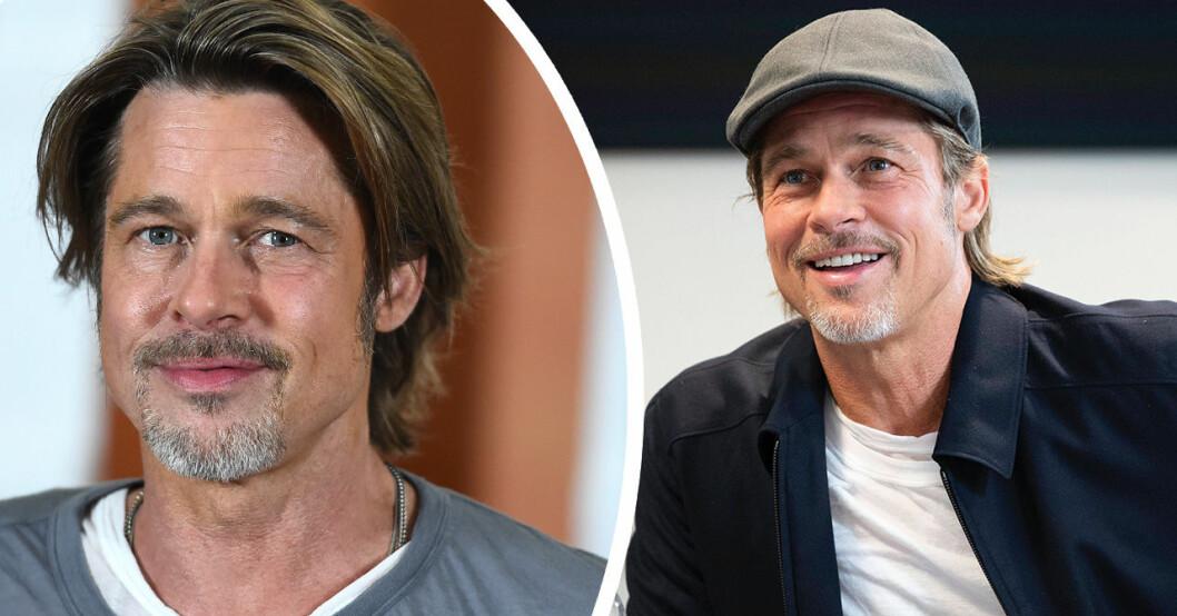 Brad Pitt säger att inget tidningarna skrivit har varit sant.